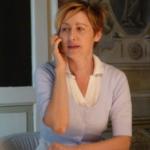 woman at the phone