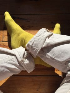 calzini gialli