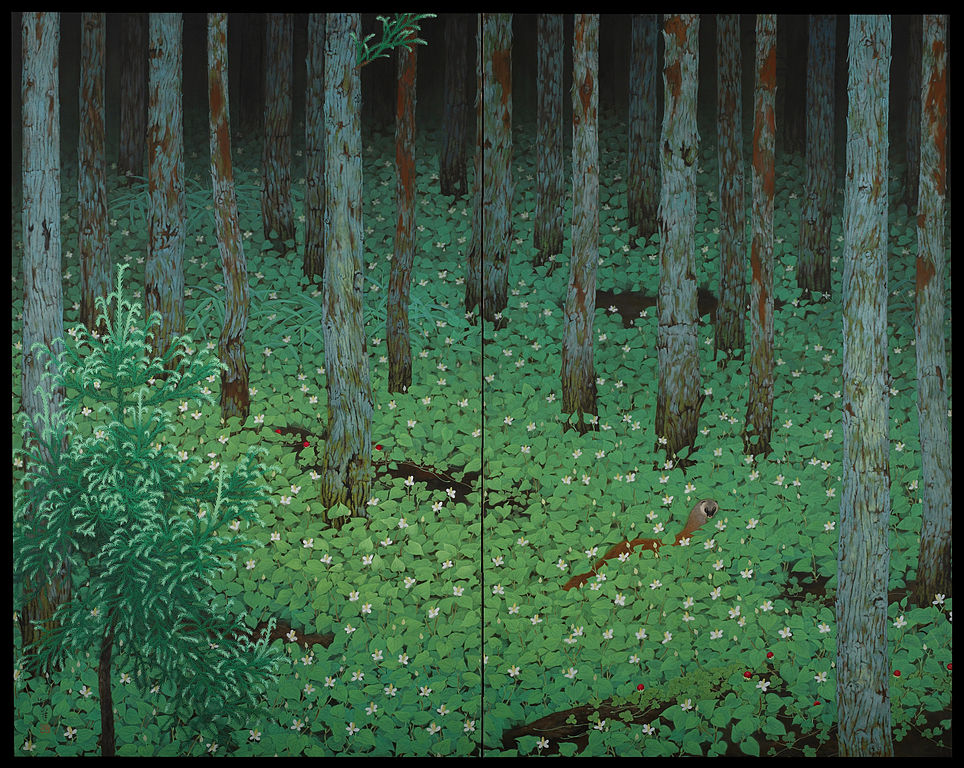 Katayama Bokuyo - Mori (Forest)