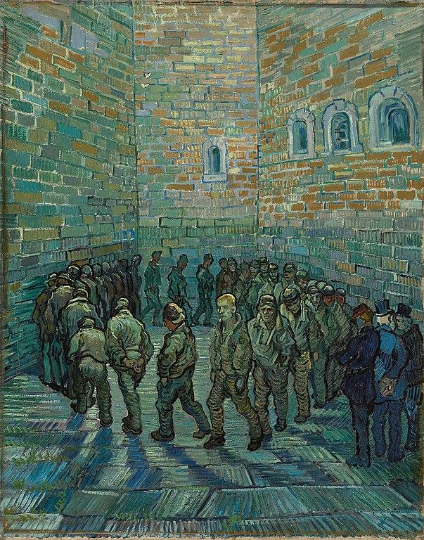 Van Gogh - Ronda dei Carcerati