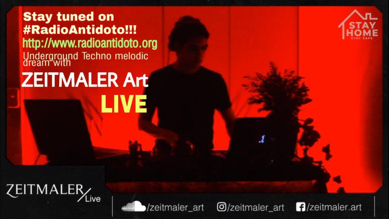 Psycotronic Rave by #ZEITMALER Art!!! LIVE …