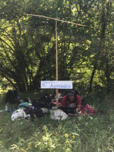Read more about the article in mezzo ai lupi nei monti simbruini